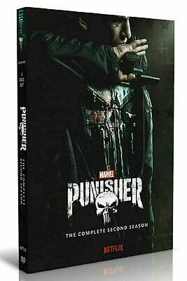 The Punisher Season 2 DVD Brand New Sealed Fast & Free 1st Class Postage