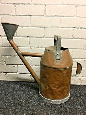 Large Antique Copper Watering Can Handmade Rare Design Reclaimed WEST YORKSHIRE