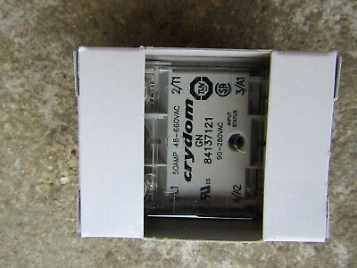 Crouzet 84137121 50A Solid State Relay, Zero Crossing Chassis Mount B714 3213007
