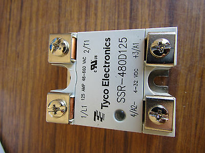 TE Connectivity 125A SPNO Solid State Relay Zero Crossing Tyco SCR Shelf 7150852