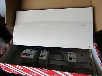 MK Electric 13 Way Split Load Metal Consumer Unit, 100A, IP2XC - Blk 8263417