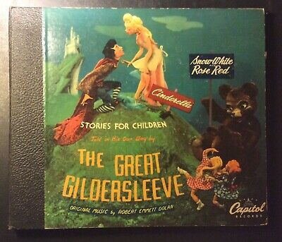 Capitol Album CD 69   THE GREAT GILDERSLEEVE Vol. 3 COVER ONLY   V+ cond