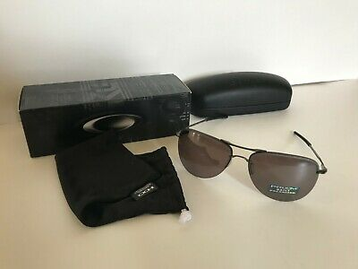 cd4e7eab106a2 NEW AUTHENTIC Oakley Tailpin sunglasses Carbon Prizm Daily Polarized 4086-04  NIB