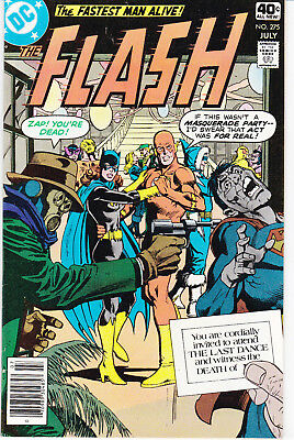 Flash 275 - Death Of Iris West Allen (Bronze Age 1979) - 8.5