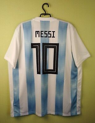 955c2c48069 Argentina jersey shirt #10 Messi 2018 Home official adidas football soccer  s.2XL