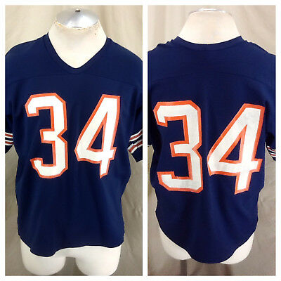 Vintage 80's Rawlings Walter Payton #34 (XL Short) Chicago Bears Football Jersey