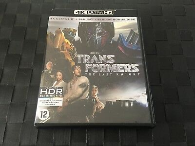 Blu Ray 4K Transformers The Last Knight