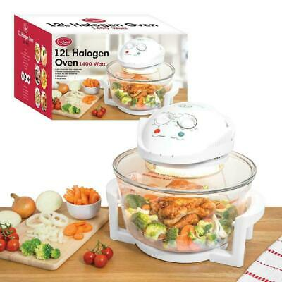 Quest 12 Litre Halogen Oven 1400w Multi-Function Cooker NEW Sealed 12L 43890