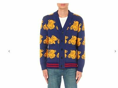 76e47708b Gucci Teddy Bear Cardigan size Small oversized, NWT. celebrities choice  SOLD OUT