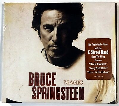 Magic by Bruce Springsteen (CD, Oct-2007, Columbia (USA)) SEALED - NEW