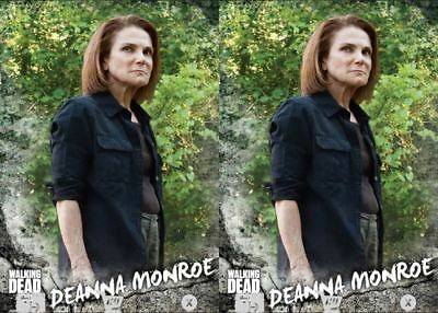 2x ROAD TO ALEXANDRIA SELECTS CHARACTER DEANNA MONROE TWD Trader Digital