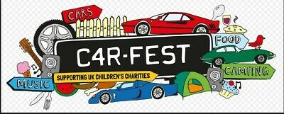 2 x CARFEST NORTH WEEKEND TICKETS WITH CAMPING, PARKING SPACE AND 1 EXTRA NIGHT