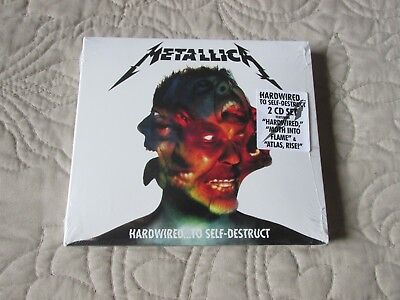 Hardwired...To Self-Destruct [Digipak] by Metallica (CD, Nov-2016, 2 Discs