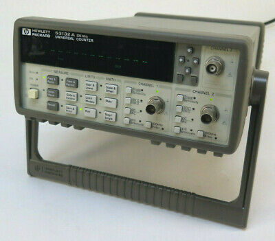 HP Agilent 53132A 225 MHz, 12 Digit, 2 Ch. Universal Counter