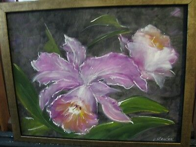 orchids by well known artist sylvia stanton