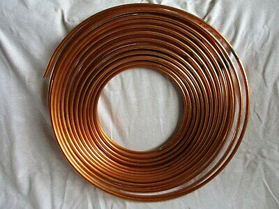 "Lawton Air Conditioning Refrigeration Copper Tube Pipe 3/8"" x 0.032"" X 30m"