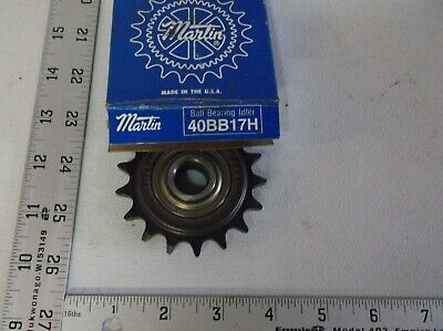 Martin 40Bb17H Idler Sprocket 40 Chain 17 Teeth