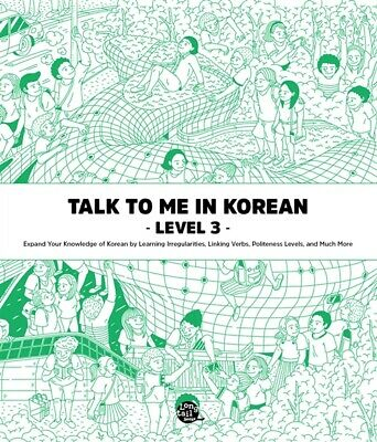 Talk to me in Korean Level 3 Free shipping+Tracking