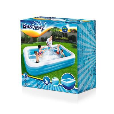 BESTWAY Family Pool Planschbecken Swimmingpool Kinder Kinderpool 305x183x56cm