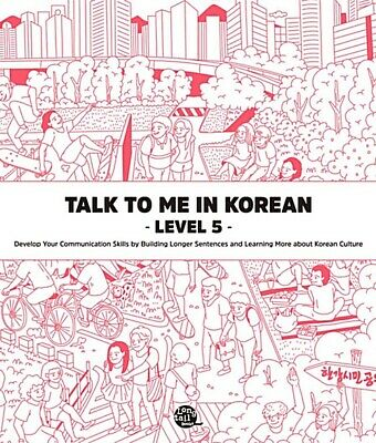 Talk to me in Korean Level 5 Free shipping+Tracking