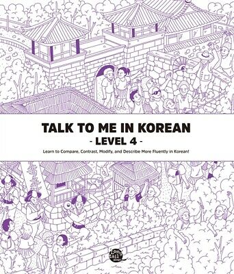 Talk to me in Korean Level 4 Free shipping+Tracking