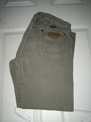 dd7dba1a Wrangler Original Fit Cowboy Cut Checotah 13Mwzmn Men's Jeans Size 34 X 32