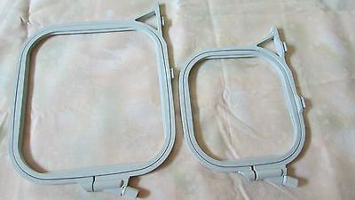 PFAFF Creative 7560 7570 Embroidery Machine Hoop Set EXCELLENT Pre-Own Condition