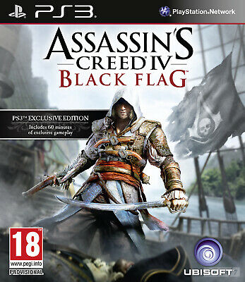 ASSASSINS CREED 4 BLACK FLAG Ps3 (Lee antes de comprar)