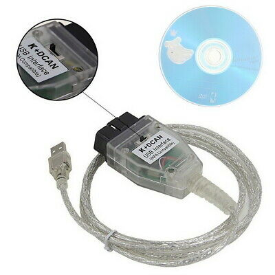 For BMW INPA K+DCAN USB Interface Switch Diagnostic OBD2 Cable FT232RQ Chip UK