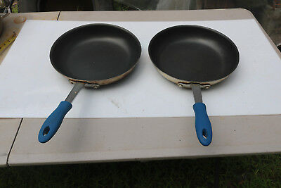 "Lot of 2 Thermalloy Browne 5813832 Eclipse 12"" Fry Frying Pan"