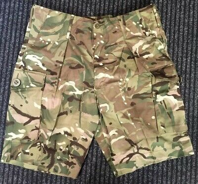 New Men's British Army Issue Lightweight MTP Camo S95 Cargo Shorts Various Sizes