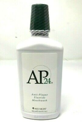 Nu skin Nuskin AP 24 Anti-Plaque Fluoride Mouthwash 16.9fl oz 500 ml Sealed New