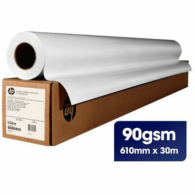 HP Coated Paper Roll 90gsm 610mm x 30m