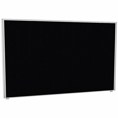 Partition Screen 1800 x 1400 White Frame Black Fabric