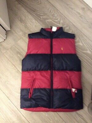 Ralph Lauren  body warmer reversible , Kids XL  16 yr ladies size 6