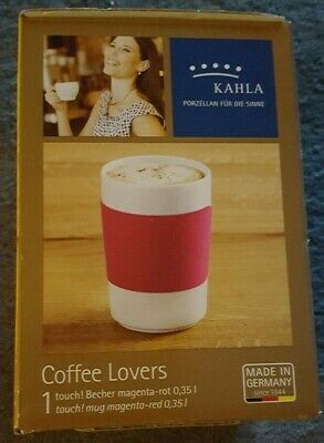 Kahla Coffe Lovers - touch! Becher magenta-rot 0,35l