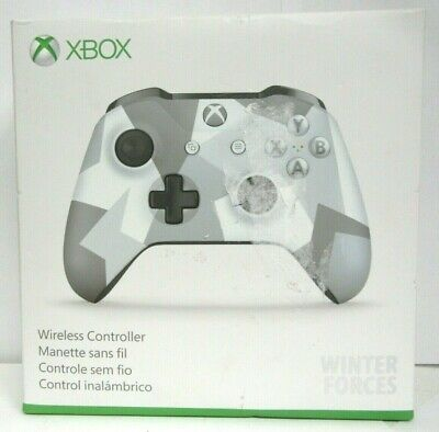 Microsoft Xbox One Wireless Controller Winter Forces Special Edition #105