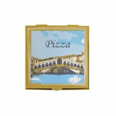 Capri Pizza Boxes White Rialto 9 / 11/ 13 / 15 Inch Carton 50