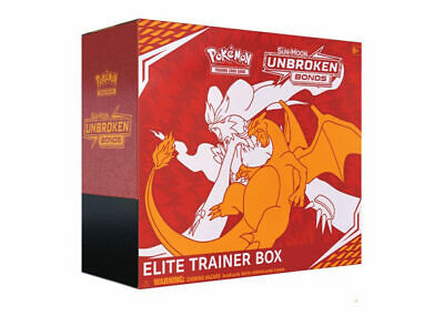 Pokemon Trading Card Game Sun & Moon Unbroken Bonds Elite Trainer Box PRE-ORDER