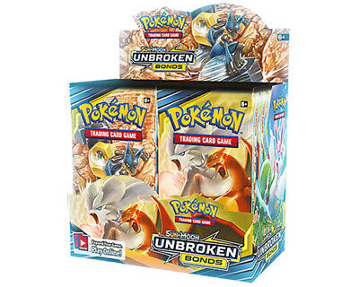Pokemon Trading Card Game Sun & Moon Unbroken Bonds Booster Box PRE-ORDER