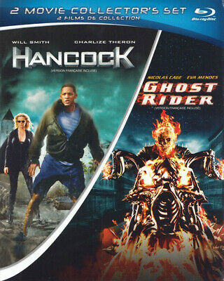 Hancock / Ghost Rider (2 Movie Collector S Set) (Blu-Ray) (Bilingual)  (Blu-Ray)