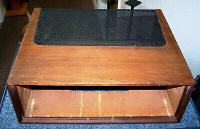 Vintage Marantz WC-22 Walnut Sleeve Wood Case