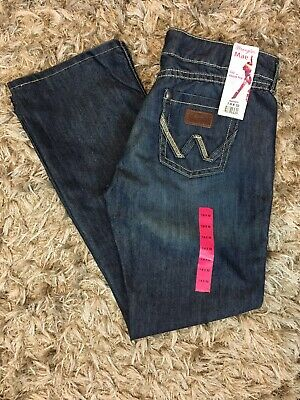 e69c0948 Wrangler Jeans Womens Size 7/8x32 Mae Premium Patch Sit Above Hip NWT!