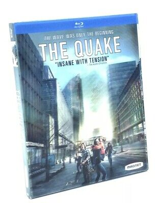 Quake, The (Blu-ray Disc, 2019) NEW w/ Lenticular Slipcover