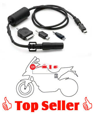 GIVI S112 Kabelsatz mit allen Standard Steckern, Power Connection Kit