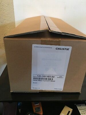 NEW Christie 121 101103 03 Short Zoom Projector Lens