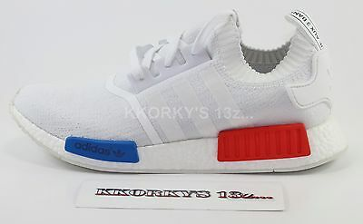 624a729afb3b2 ADIDAS NMD R1 Whiteout 3 Three Stripes Size 7. S76518 Yeezy Ultra ...