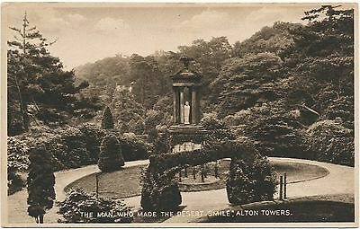 STAFFORDSHIRE – Alton Towers The Man Who Made the Desert Smile – England