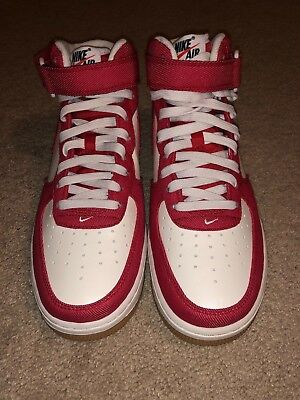 wholesale dealer b3b09 fdbf9 New Men s Size 8.5 Nike Air Force 1 Mid  07 315123-607 University Red