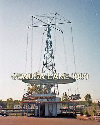 GEAUGA LAKE 8 by 10 Amusement Theme Park Photo 03 - $14 99 | PicClick